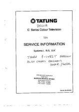 Buy DECCA P1482T COLOUR TV SERVICE (A7 by download #105533