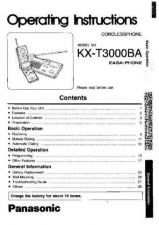 Buy Panasonic KXT3826 Operating Instruction Book by download Mauritron #236054
