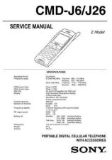 Buy Sony CMD-C1-C8 Service Technical Info by download #104688