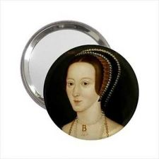 Buy Queen Anne Boleyn Art Henry VIII Round Handbag Purse Mirror