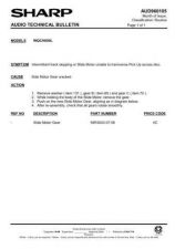 Buy Sharp. WQCH600L_SM_GB-DE-FR Service Manual by download Mauritron #211857