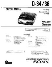 Buy Sony D2846 Service Manual by download Mauritron #239424