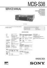 Buy Sony MDX-C8500RC8500X Service Information by download Mauritron #237943