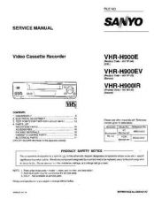 Buy Fisher. Service Manual For VHR-H900E by download Mauritron #217633