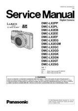Buy Panasonic DMC-LZ7EG Service Manual with Schematics by download Mauritron #266928