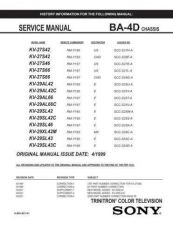 Buy Sony BA-4D Service Manual by download Mauritron #236838