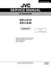 Buy JVC KD-LX10B SERVICE MANUAL by download Mauritron #220350