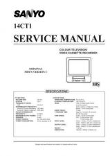 Buy SANYO 14CT1-6 SERVICE INFO CDC-707 Service Information by download #113466