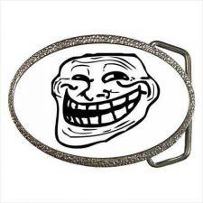 Buy Troll Guy Internet Meme Comic Unisex Belt Buckle