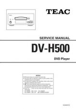 Buy Teac DV-H500 Service Manual by download Mauritron #223714