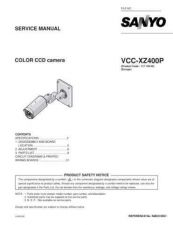 Buy Fisher. Service Manual For VCC-XZ400P-01 by download Mauritron #217543
