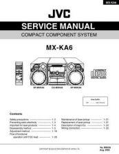 Buy JVC MX-KA6UM SERVICE MANUAL by download Mauritron #220553
