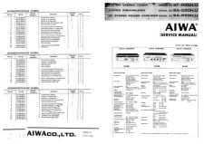 Buy Aiwa SAC-50H Pre Amplifier Service Manual by download Mauritron #230551