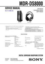 Buy Sony MDR-E505V Service Information by download Mauritron #237918