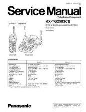 Buy Panasonic KX-FA103 Service Manual by download Mauritron #267260