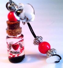 Buy Personalized Inspirational Verses Love With Passion Name On Rice Cell Charm