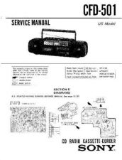 Buy Sony CFD-17 Manual by download Mauritron #228273
