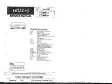 Buy Hitachi VTM272A Service Manual by download Mauritron #265577