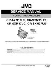 Buy JVC GR-SXM37 Service Manual Schematic Circuit. by download Mauritron #270841