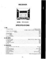 Buy GOLDSTAR FR-X1-MSCH Service Information by download #112348