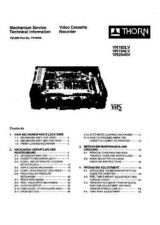 Buy THORN VR194LV MECHANISM SERVICE MANUAL by download #109780