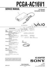 Buy Sony PCG-VX89-VX89K-VX89P Service Manual. by download Mauritron #243387