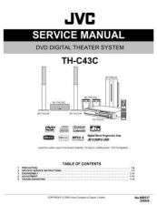 Buy JVC TH-C4-TH-C3 Service Manual Schematic Circuit. by download Mauritron #272495
