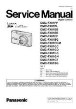 Buy Panasonic DMC-FX10GT Service Manual with Schematics by download Mauritron #266647