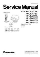 Buy Panasonic KX-TG7321CAC KX-TGA731RUC by download Mauritron #267423