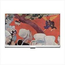 Buy Gauguin Vision After The Sermon Art Business Credit Card Holder