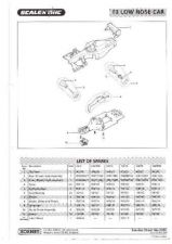 Buy Scalextrix No.300C Formula 3 Car Service Sheets by download Mauritron #206353