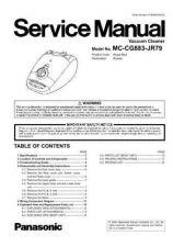 Buy Panasonic MC-V5209-00 Service Manual by download Mauritron #267652