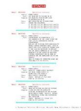 Buy HITACHI SETELLITE-MENU & REPAIR TIPS by download #101254