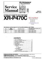 Buy PIONEER XRP470C RRV1690 Technical Information by download #119421