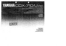 Buy Yamaha CDX-710 Operating Guide by download Mauritron #247033