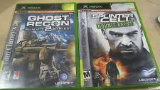 Buy 2 LOT Tom Clancy Games Ghost Recon 2