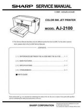 Buy Sharp AJ-2000 Operating Guide by download Mauritron #230861