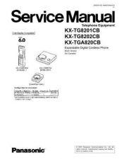 Buy Panasonic tg8202c Service Manual by download Mauritron #269109