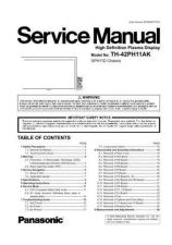 Buy Panasonic TH-32LHD7BS Service Manual by download Mauritron #269166