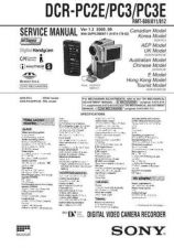 Buy Sony DCR-PC2EPC3PC3E Manual-1664 by download Mauritron #228517