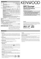 Buy Kenwood DPF-1030 Operating Guide by download Mauritron #221071