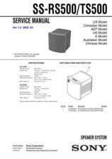 Buy Sony SS-P11 Service Manual. by download Mauritron #244889