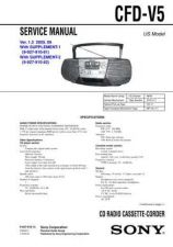 Buy Sony CFD-V34L Manual-1663 by download Mauritron #228359