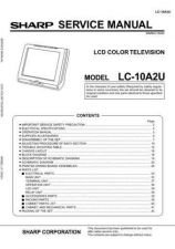 Buy Sharp LC10A2U Service Manual by download Mauritron #209756