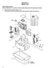 Buy JVC GR-SXM245 PART Service Manual by download Mauritron #279320