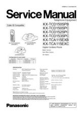 Buy Panasonic TCD150SP Manual by download Mauritron #301916