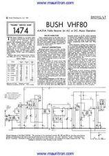 Buy BUSH VHF80 Wireless Service Manual by download Mauritron #326416