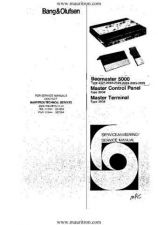 Buy B&O. BEOMASTER 5000 TYPE 2321. SERVICE MANUAL by download Mauritron #327272