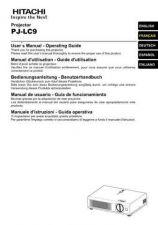 Buy Hitachi PJ-LC5_NL Service Manual by download Mauritron #290684