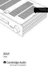 Buy Cambridge Audio AP201003Azur740AUserManual01Eng by download Mauritron #311777
